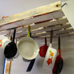 DIY Pallet Pot Rack Plans