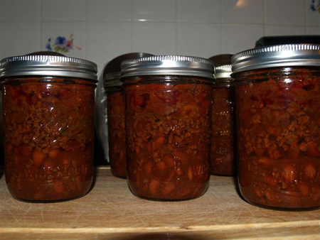 Easy Layered Chili Canning Recipe