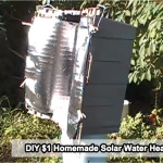 DIY $1 Homemade Solar Water Heater