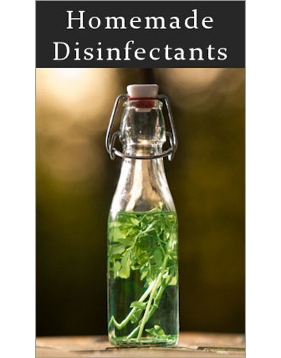 14 Homemade Surface Disinfectants