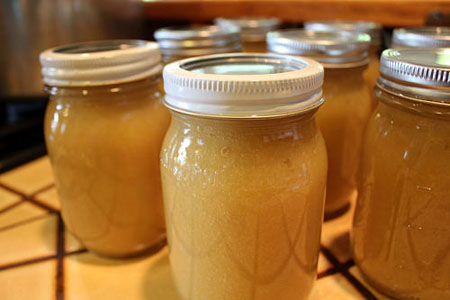 Canning Homemade Applesauce Recipe