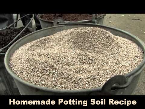 Homemade Potting Soil Recipe