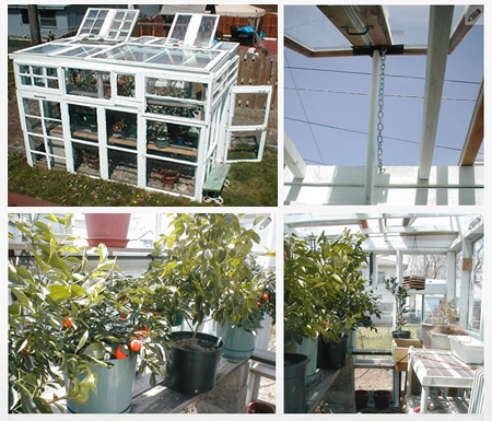 how to build a greenhouse window