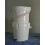 DIY Plastic Bucket Water Filter System
