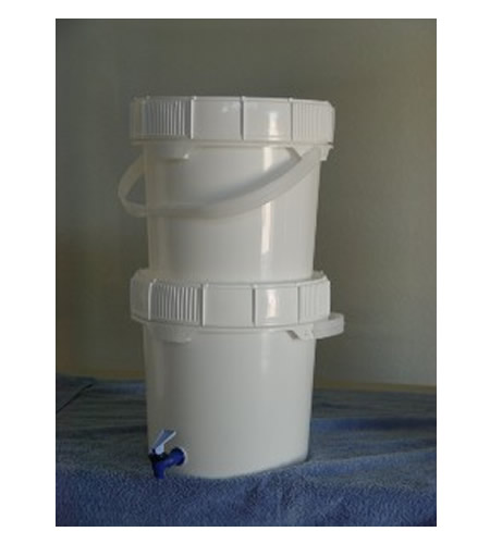 DIY Plastic Bucket Water Filter System