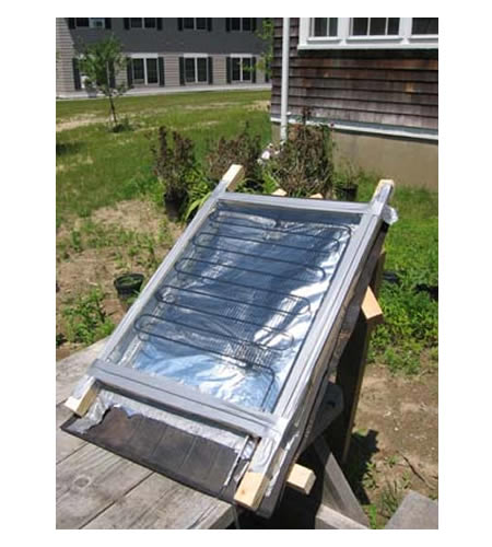 DIY $5 Solar Thermal Water Heater