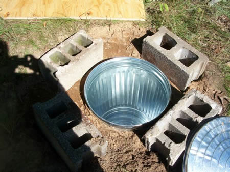 DIY Trash Can Root Cellar