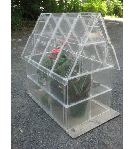 DIY CD Cases Greenhouse