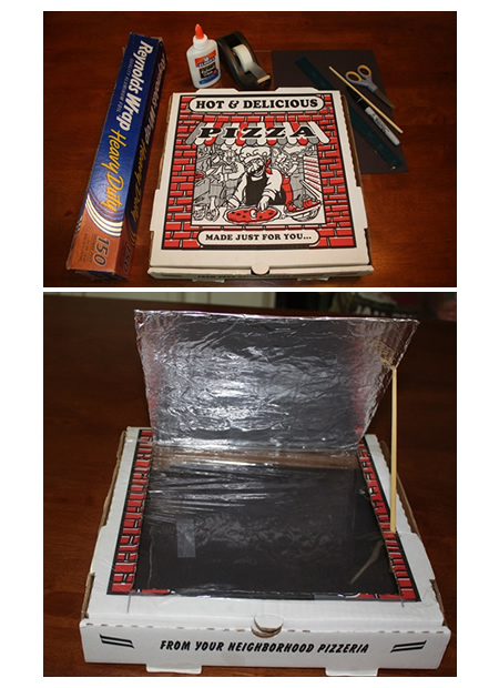 DIY Pizza Box Solar Oven