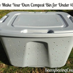 DIY $5 Compost Bin