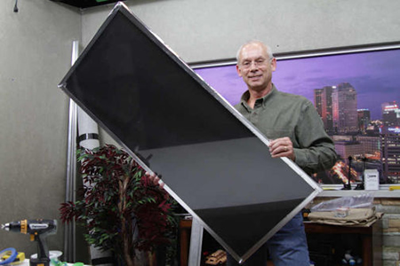 Diy Foil Solar Heater For Windows