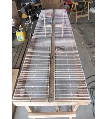 DIY Greenhouse Planting Bench