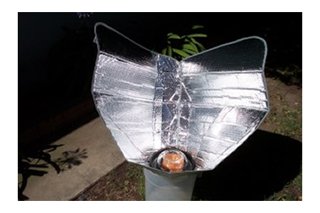 DIY Plastic Bucket Solar Cooker