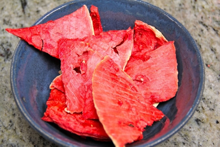 Homemade Watermelon Chips Recipe