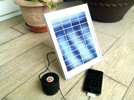 DIY Portable Solar USB Charger