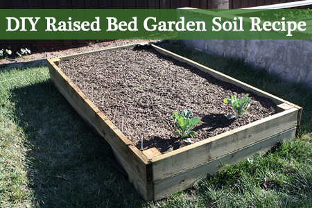 raised bed garden soil recipe 1