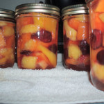 Canning Mixed Fruit