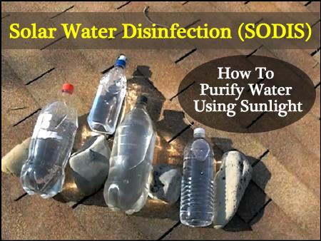 Solar Water Purification Method