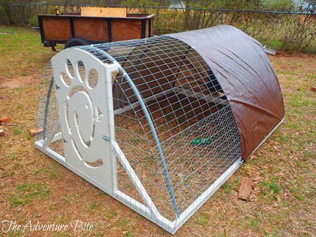Kopa for Pvc chicken tractor plans