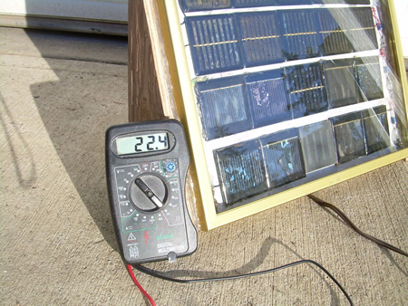 DIY Solar Panel From Picture Frame