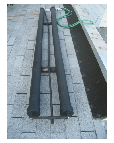 DIY PVC Pipe Solar Water Heater