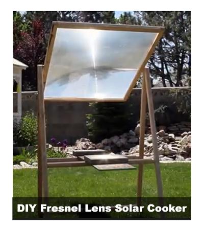 DIY Fresnel Lens Solar Cooker