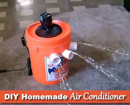 DIY 5 Gallon Bucket Air Conditioner