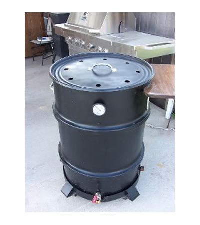 DIY Homemade Drum Smoker