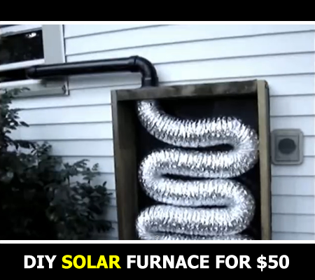 DIY Homemade Solar Furnace