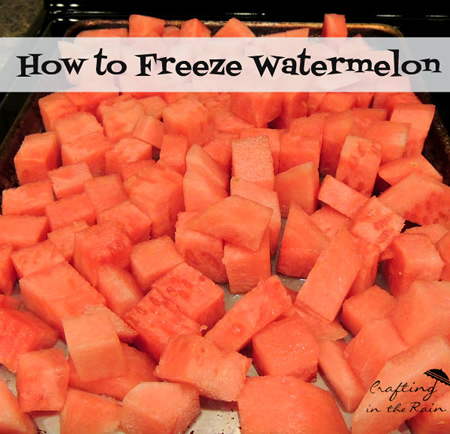 Freezing Watermelon