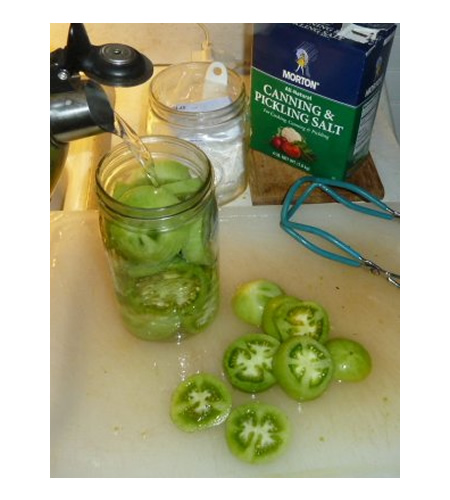 Recipe For Cannning Green Tomatoes