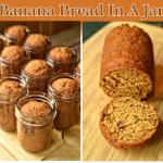 Homemade Banana Bread In A Jar