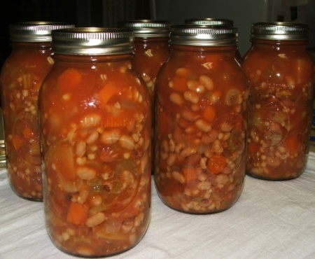 Canning Vegetable Soup Recipe