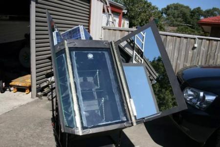 DIY Automatic Sun Tracking Solar Oven