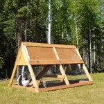 DIY Portable A-Frame Chicken Coop
