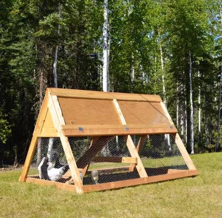 DIY Portable A-Frame Chicken Coop