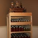 DIY Wood Pallet Canning Pantry