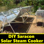 DIY Saracon Solar Steam Cooker