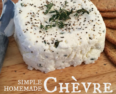 How To Make Chevre Cheese Recipe