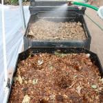 DIY 3 Bin Compost System