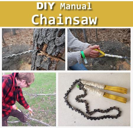 DIY Manual Chainsaw