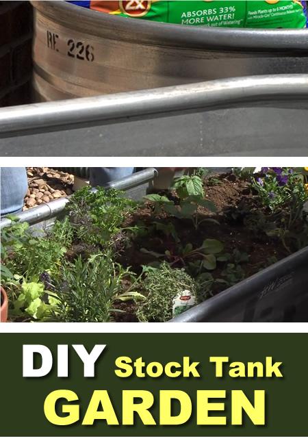 Diy Stock Tank Garden