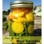 How To Can Mixed Vegetables