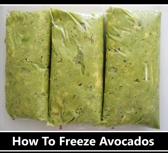 How To Freeze Avocados