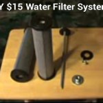 Homemade $15 Water Filter System