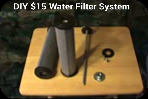 Diy 15 Water Filtration System