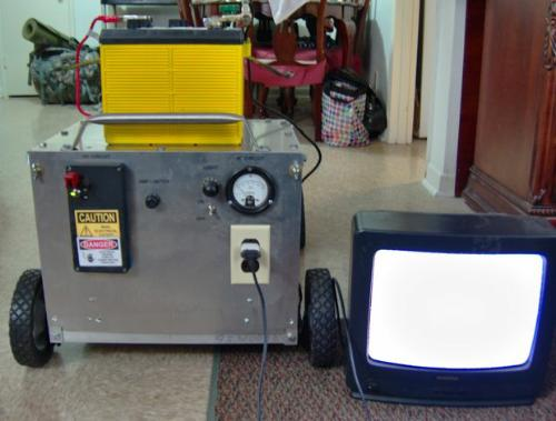 DIY Lawn Mower Generator