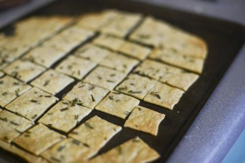 Homemade Rustic Crackers Recipe