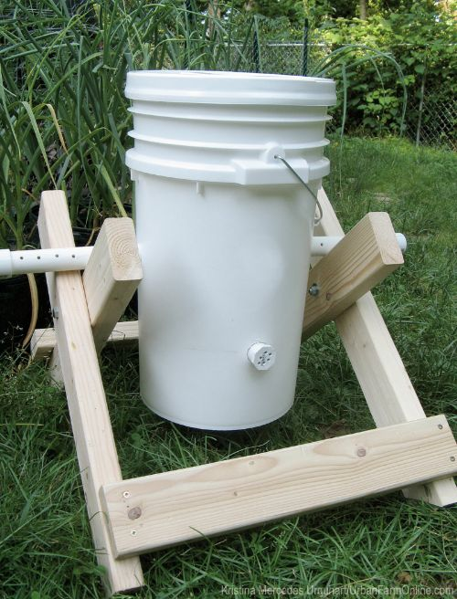 Homemade Compost Tumbler Plans