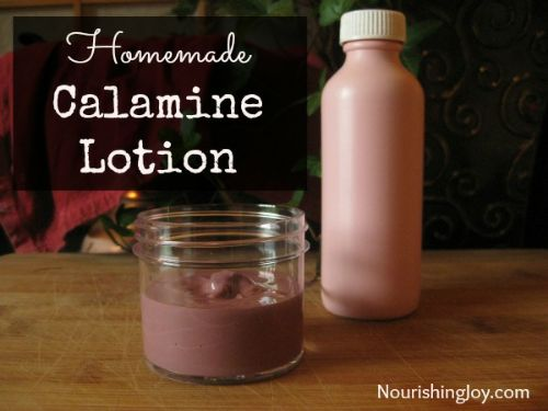 Hoomemade Calamine Lotion Recipe